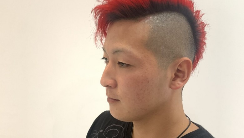 red fade
