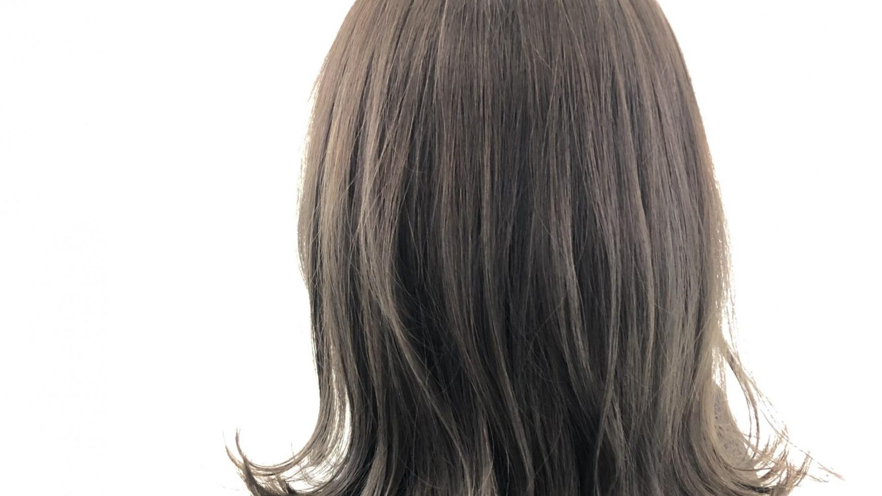 ツヤ髪 外国人風カラー
